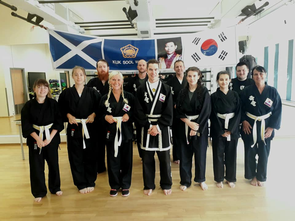 Martial arts in Perth Kuk Sool Won of Perth with PSBN Richard Steel