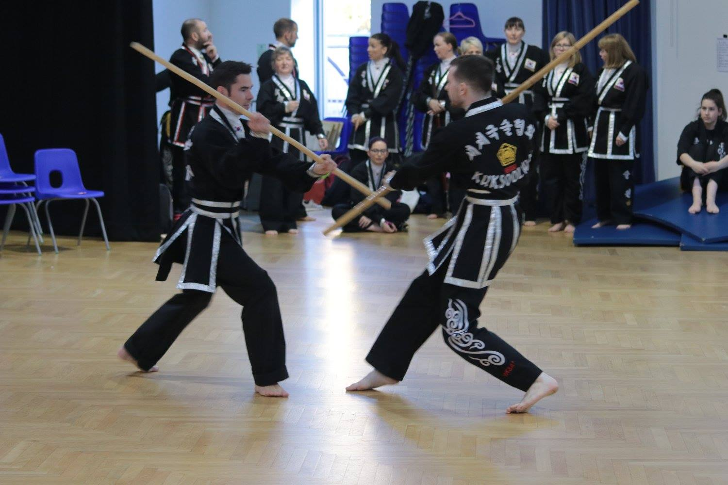 kuk sool won of perth staff sparring