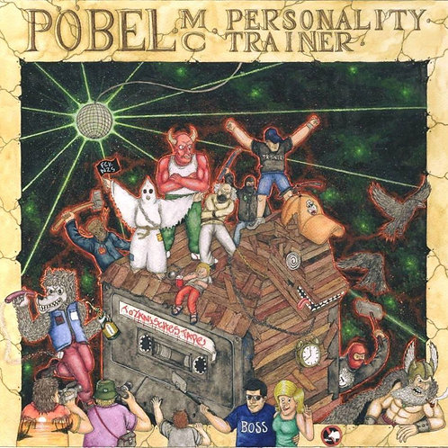 Personality Trainer LP - PÖBEL MC - Ghettoedition