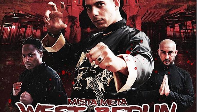 """West-Berlin Shaolin LP - 12"""" Vinyl - Mista Meta - limitierte Auflage"""