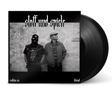 Stoff & Spiele - Rokko W. & Blend - 2LP inkl. Instrumentals
