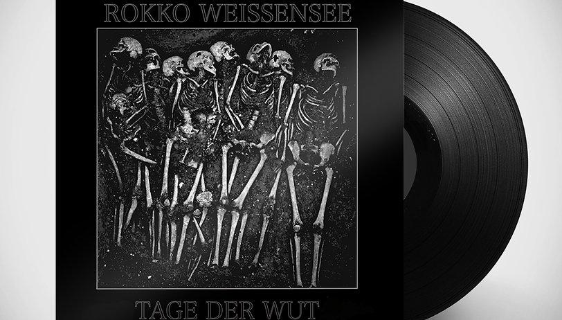 Rokko Weissensee - Tage der Wut + Lieder von Frieden & Freude - 2LP