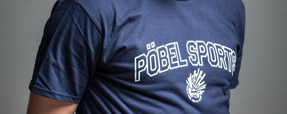 Pöbel Sports Navy Shirt