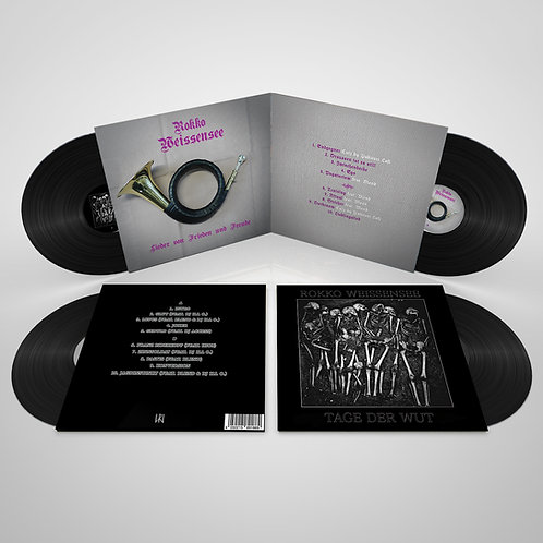 Rokko Weissensee Vinyl Bundle - 4 Alben