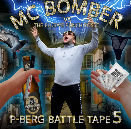 P.Berg Battletape 5 - MC Bomber - Vinyl LP