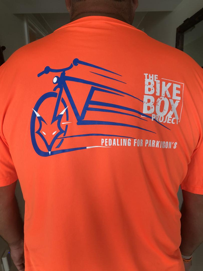 Orange Biking Shirt