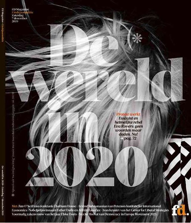 The world in 2020 _fdpersoonlijk #cover