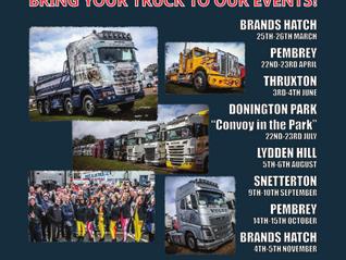 Show Truck Entries for Thruxton