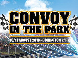 GET YOUR TRUCK BOOKED IN FOR CONVOY IN THE PARK 2019! ✅