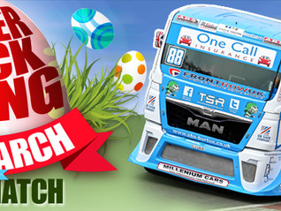 EASTER BRITISH TRUCK RACING 26-28 MARCH - BRANDS HATCH TIMETABLE