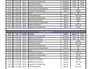 Pembrey - Timetable
