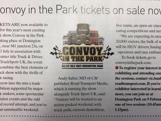Convoy in the Park tickets