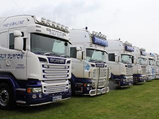 100+ Show Trucks at Thruxton