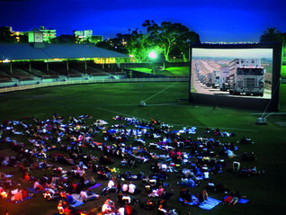 Outdoor Cinema at Convoy in the Park