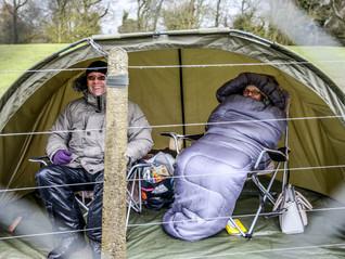 Camping at Donington Park