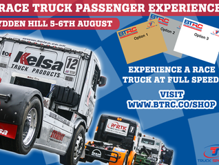 Lydden Hill Race Truck Passenger Rides