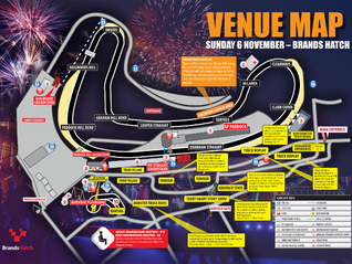 Brands Hatch Venue Map