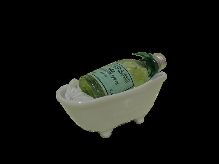 Banheira em Porcelana Verde - 80 ml Cód. 696