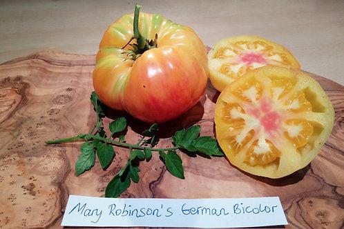 "Tomate ""Mary Robinson's German Bicolor"""