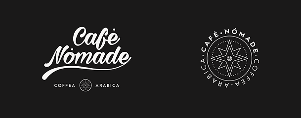 Logos Café Nómade Uruguay