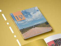 19 historias_ Diseño editorial