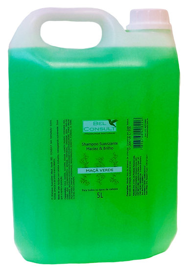 Shampoo Suavizante Maçã Verde - Cód. 822