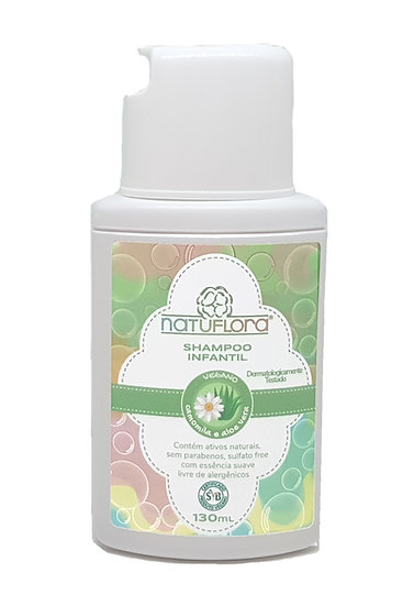 Shampoo Vegano Infantil - 130ml - Cod 220