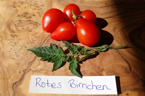 """Tomate """"Rotes Birnchen"""""""