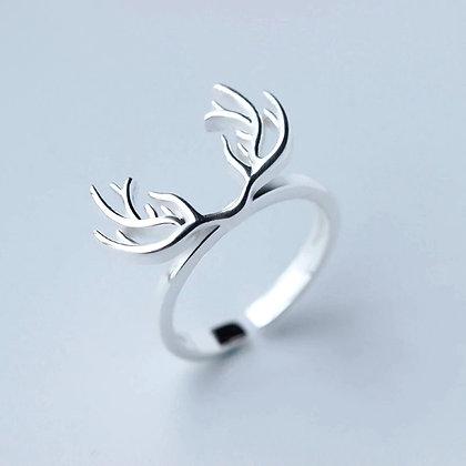 Minimalist- Deer Ring