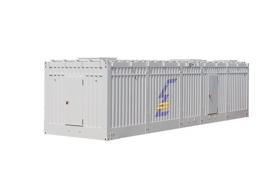 Container housing for LV and MV - LER