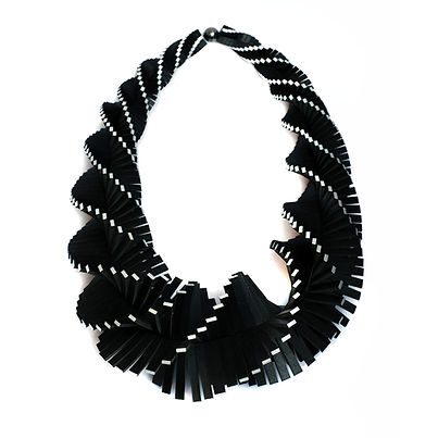 Tania Clarke Hall leather necklace