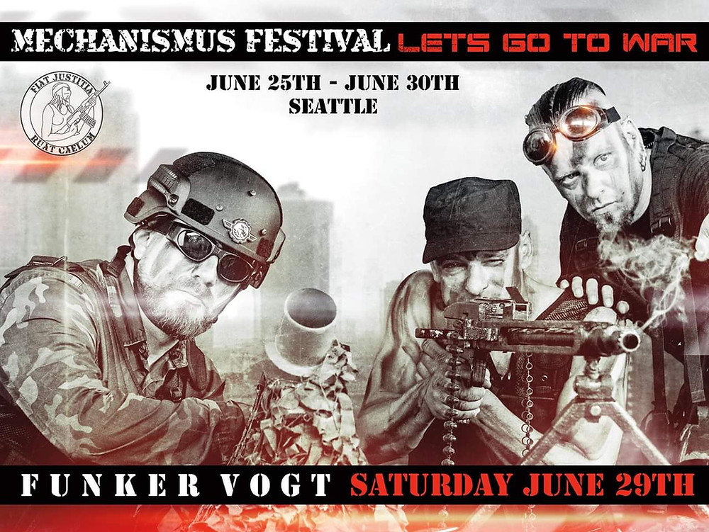 Mechanismus Festival June 29th Seattle