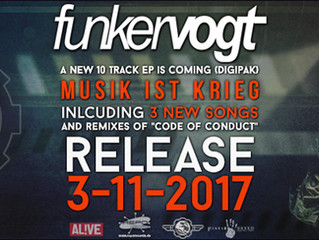 OUT NOW - Musik ist Krieg (Maxi-CD/EP)