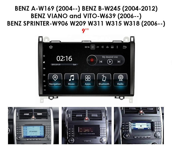 Android for Mercedes B class W245