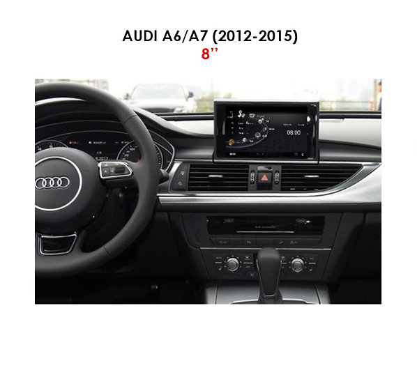 """Android 9.0 MT for Audi A6 2012-2015 8"""""""