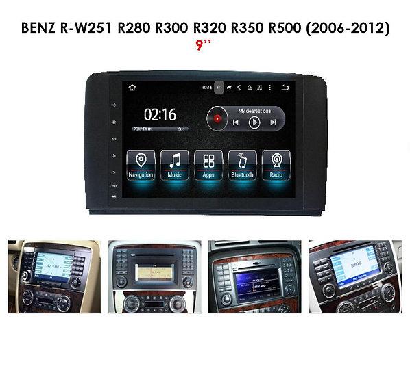 Screen upgrade Mercedes R W251