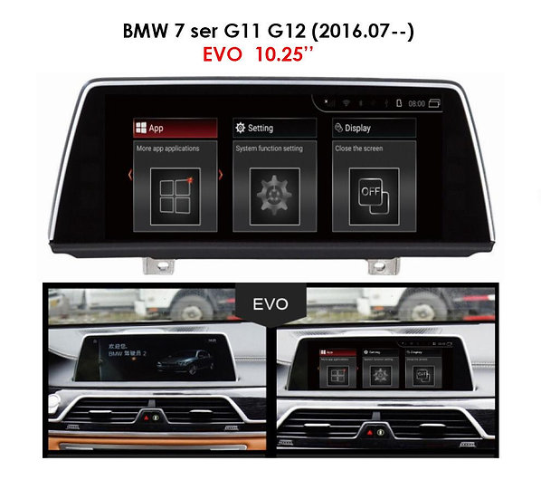 Android 9.0 MT for BMW 7 series 2016.07-- G11 G12