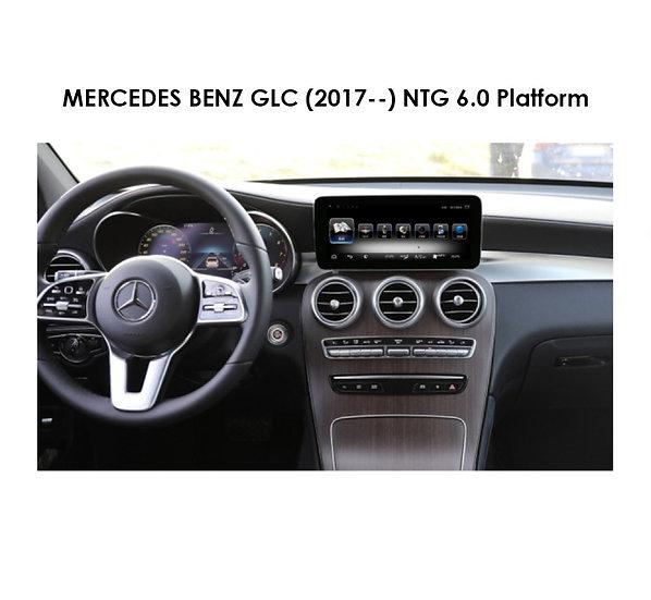 Android 9.0 MT for Mercedes Benz GLC (NTG 6.0 Platform) after 2017