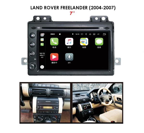 Android auto Land Rover Freelander