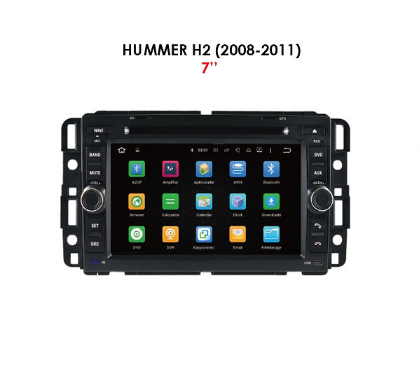 """Android 9.0 for Hummer H2 2008-2011 7"""""""