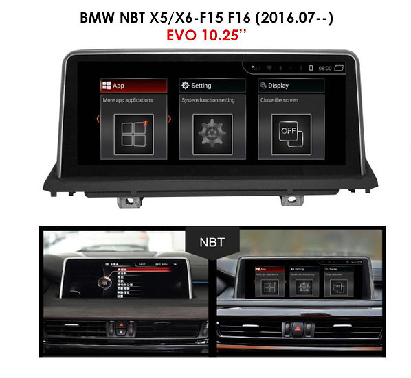 Android 9.0 MT for BMW X5 2016.07-- F15 F16