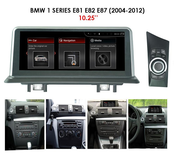 Android 9.0 MT for BMW 1 series 2004-2012 E81 E82 E87