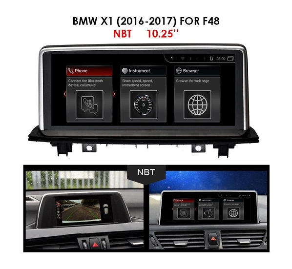 Android 9.0 MT for BMW X1 2016-2017 F48