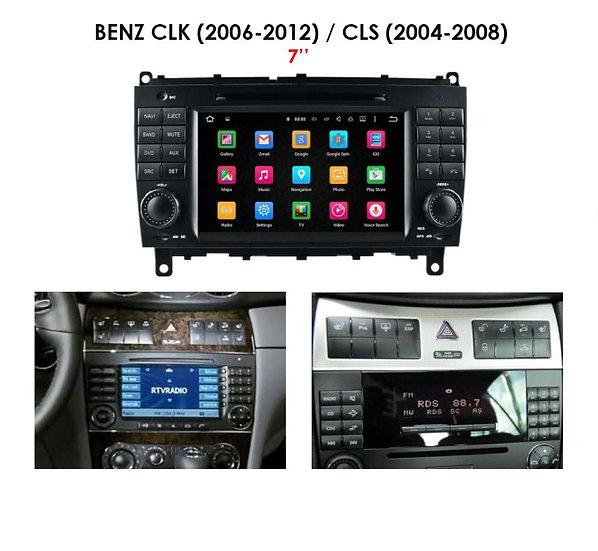 Retrofit screen Mercedes CLS