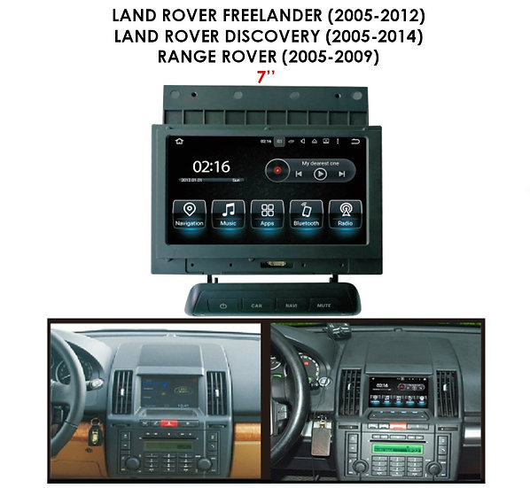 Android auto Land Rover Freelander 2005