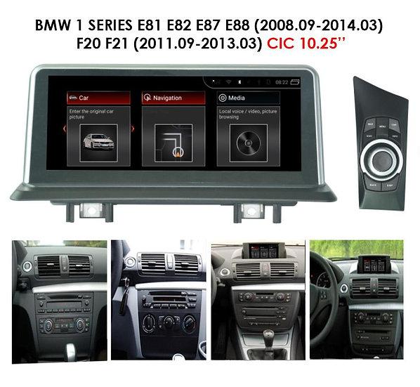Android 9.0 MT for BMW 1 series 2008-2014 E81 E82 E87 E88