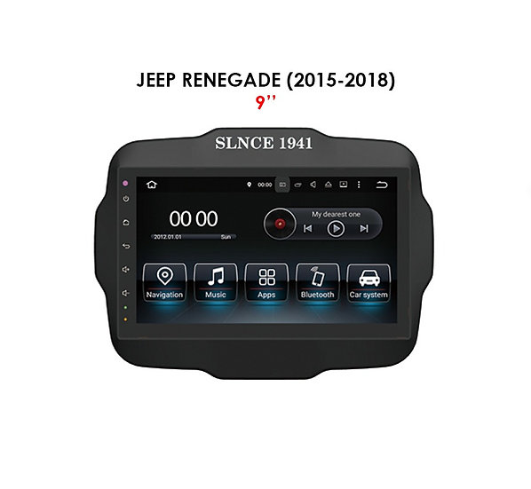 """Android 9.0 for Jeep Renegade 2015-2018 9"""""""