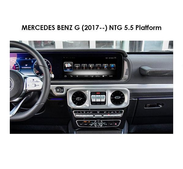 Android 9.0 MT for Mercedes Benz G class (NTG 5.5 Platform) after 2017