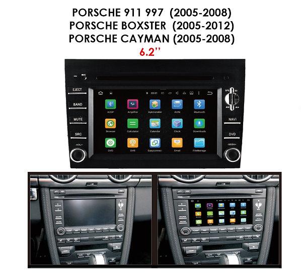 Screen upgrade Porsche Cayman 2005