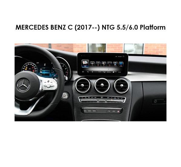 Android 9.0 MT for Mercedes Benz C (NTG 5.5/6.0 Platform) after 2017